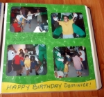 HaHa Dom is 3 here in this picutre. This was at his birthday party.