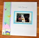 Page in 2010 Album: Here is a layout that I am working on for Easter.